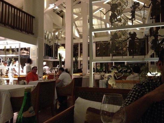 Kayuputi at St. Regis Bali Resort: Inside restaurant