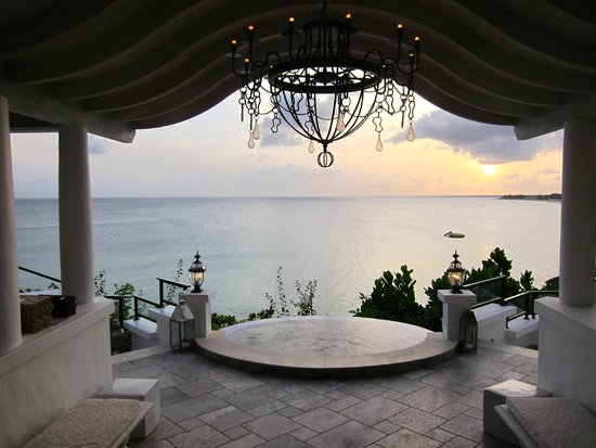 Belmond La Samanna : Looking out from the reception area
