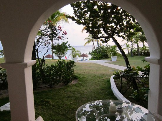 Belmond La Samanna: Looking out from our patio