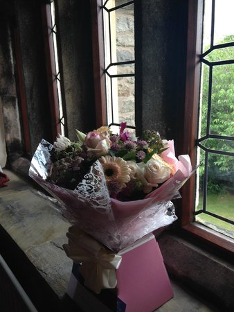 Stirk House Hotel: Flowers for my birthday