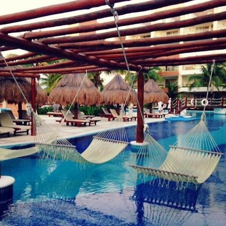 Excellence Playa Mujeres: pools with hamocks