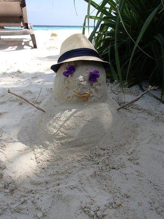 Komandoo Maldives Island Resort: Unser Sandmann:)