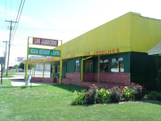 Hiawatha KS Los Jarochos Restaurant Sign