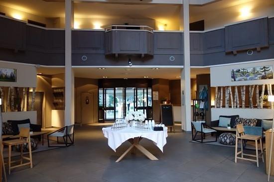 Le Refuge des Aiglons: hotel lobby