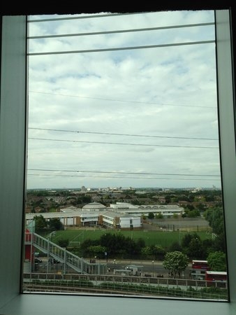 Aloft London Excel: another view from the window