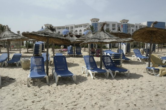 Hotel Diar Lemdina : Strandbedjes zijn gratis