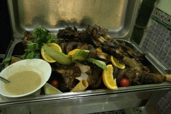 Hotel Diar Lemdina : Altijd goed gegaard vlees