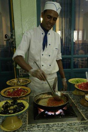 Hotel Diar Lemdina : Eten vers bereid