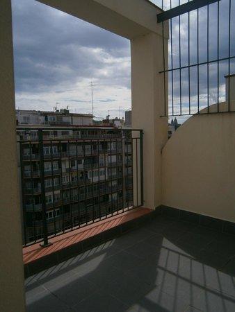 Hotel Auto Hogar: Terrasse mit Ausblick