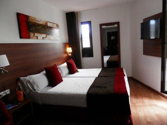 Hotel Auto Hogar: Unser Zimmer