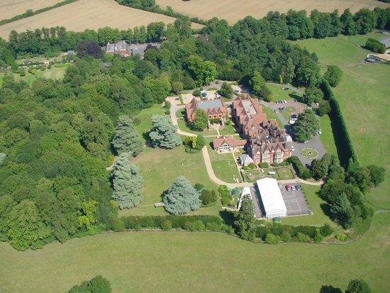 Pendley Manor Hotel: Aerial View