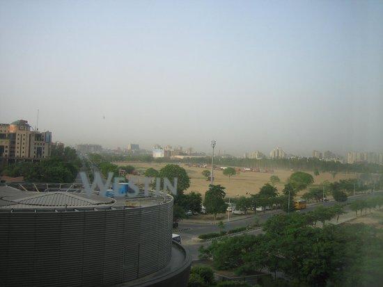 Westin Gurgaon, New Delhi: 部屋からの風景