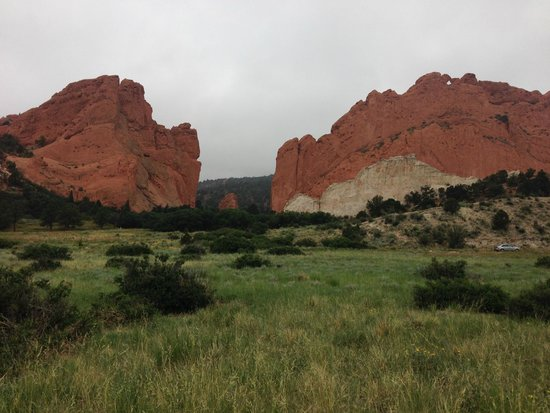 Garden of the Gods: Cloudy morning, but still beautiful