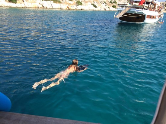 Boat Trips by Captain Ergun : Sea scooter!