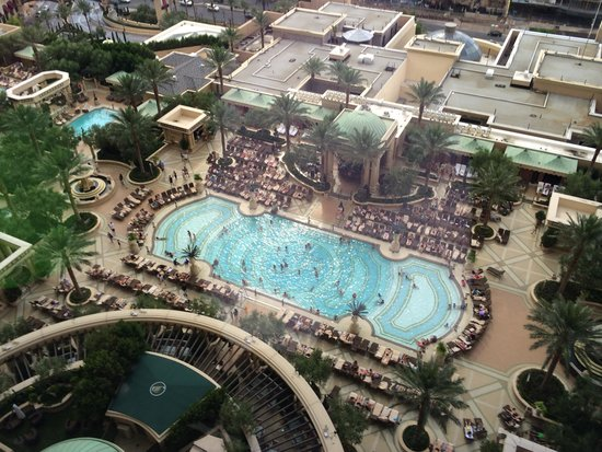 The Palazzo Resort Hotel Casino: View from our room