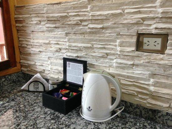 Tupa Hotel Boutique: pava electrica