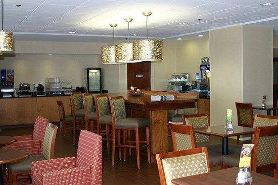 Holiday Inn Express Greenville: Guest Dining Lounge