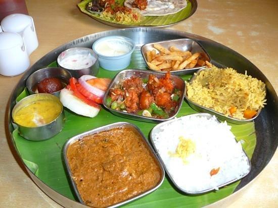 Hotel Jayaram - Akshaya: package meal.