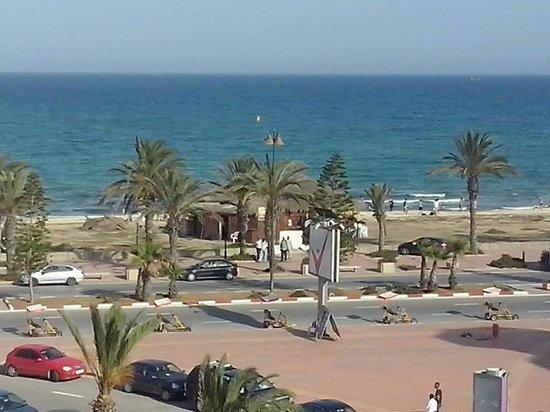 El Mouradi El Menzah: panorama dalla mia camera
