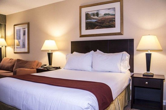 Holiday Inn Express Springfield: Queen Bed Guest Room