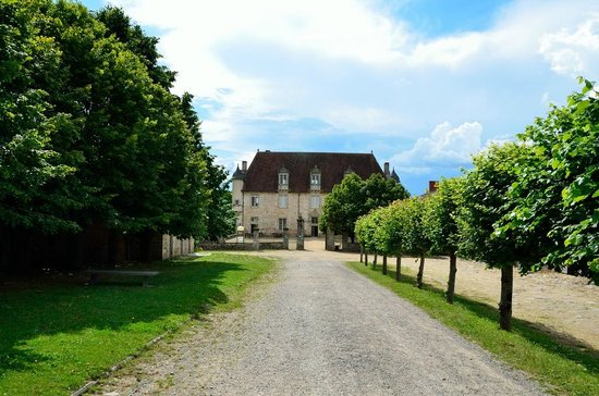 Solignac, Frankrike: Chateau - Tearoom and Shop