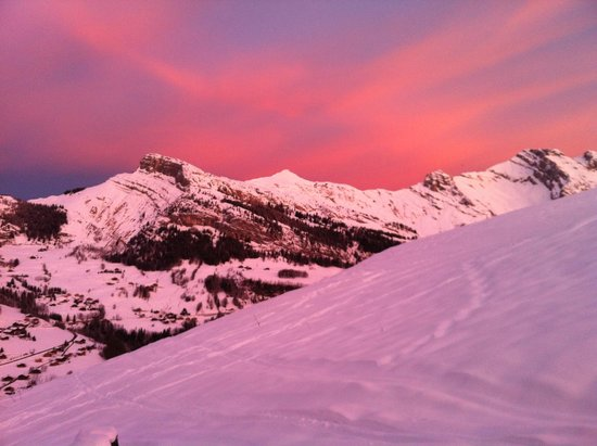 Sunrise from Chalet D'Or