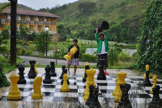 Vassouras Eco Resort: Jogo