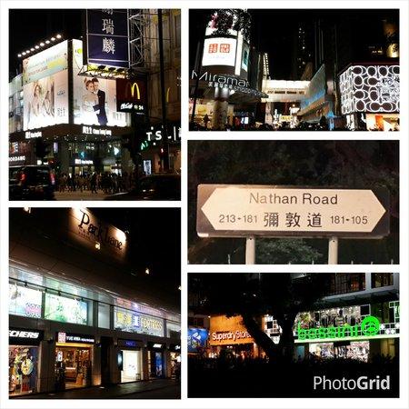 Flirting with Nathan Road