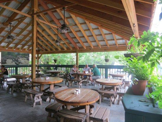 Ohiopyle House Cafe Delightful Deck