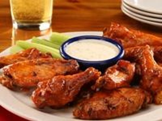 Red Hot & Blue : Buffalo Chicken Wings