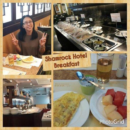 Shamrock Hotel : Good breakfast