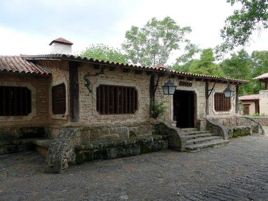 Altos de Chavon: Museu arqueológico