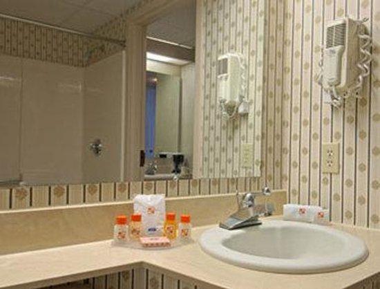Howard Johnson Hotel South Portland : Bathroom