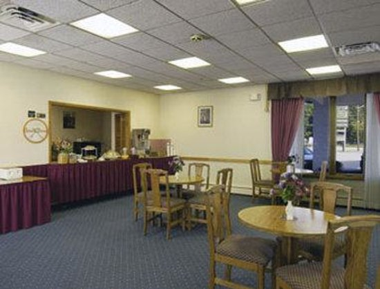 Knights Inn Liberty : Breakfast Area
