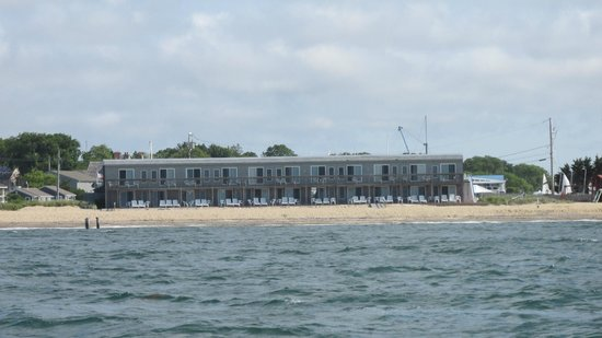 Tides Motel of Falmouth: A view from the ocean