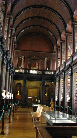 The Book of Kells and the Old Library Exhibition: Trinity College Old Library