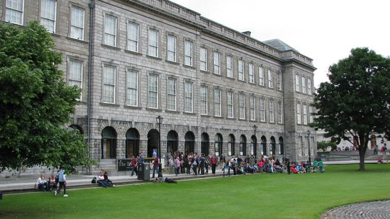 The Book of Kells and the Old Library Exhibition: Entry to Trinity College Library Museum