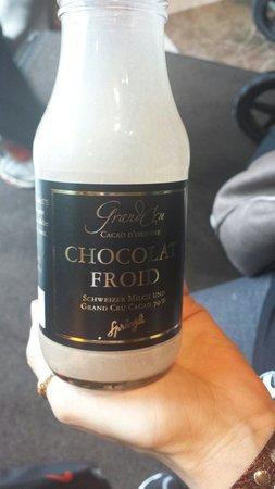 Confiserie Sprungli: Chocolate gelado!