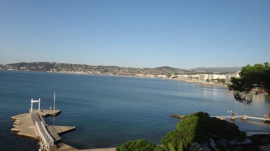 Hotel Belles Rives : vista