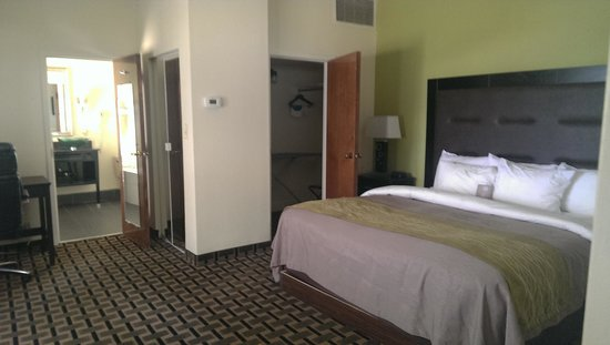 Comfort Inn Downtown Charleston: Comfortably clean bed