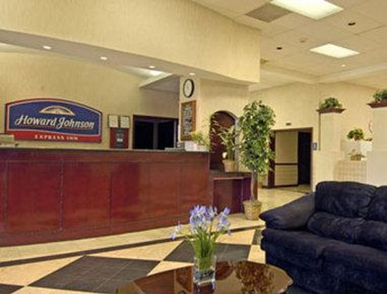Howard Johnson Express Inn Bellmawr NJ/Philadelphia Area: Lobby