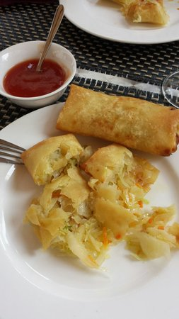 Trattoria Cinese Long Chang Di Zhou Yuelong : The best spring rolls