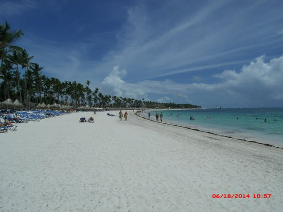 Melia Caribe Tropical: The Level Adult Only Beach - never crowded