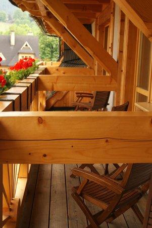 Willa Kominiarski Wierch: balkon