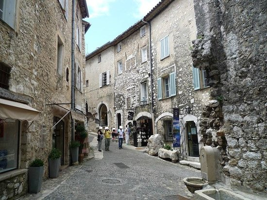Saint-Paul de Vence : Passeggiando....