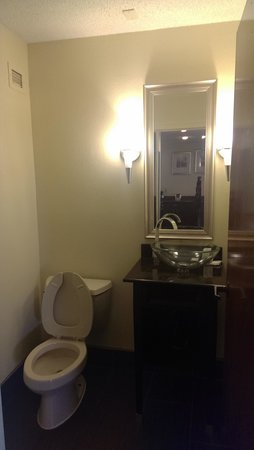 Comfort Inn Downtown Charleston: second half bath