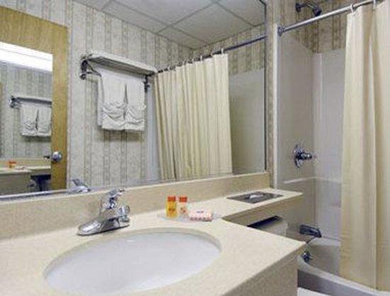 Howard Johnson North Bergen: Bathroom