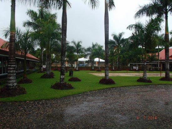 Pool & rest area