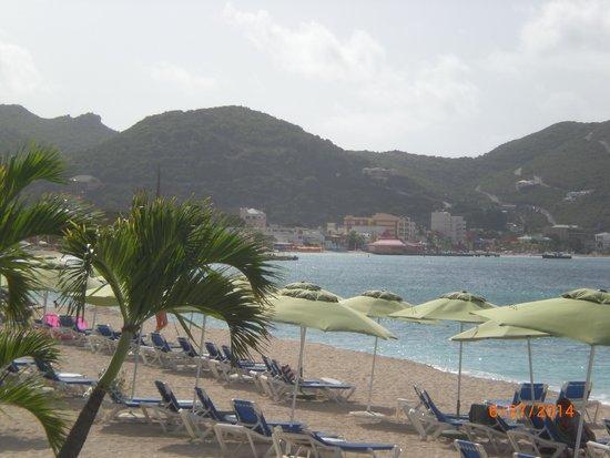 Sonesta Great Bay Beach Resort, Casino & Spa: view of  Philipsburg from the resort