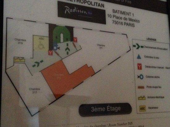 Le Metropolitan, a Tribute Portfolio Hotel: Room layout